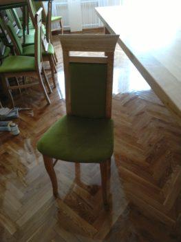 Krzesło proste dębowe