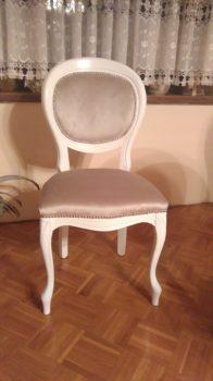 Krzesło włoskie bez podłokietnika